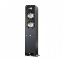 American HiFi Home Theater Tower Speaker in Washed Black Walnut