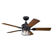 "Lyndon Patio 52"" Fan Distressed Black"