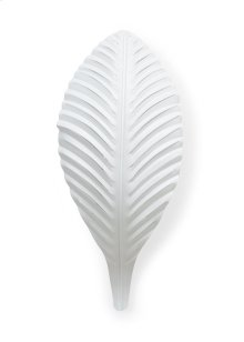 Palm Sconce-white