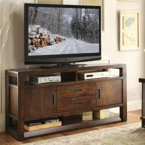 Riata - 60-inch TV Console - Warm Walnut Finish
