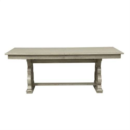 Opt 7 Piece Trestle Table Set