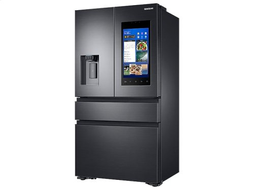 22 cu. ft. Capacity Counter Depth 4-Door French Door Refrigerator with Family Hub Recessed Handles (2017)