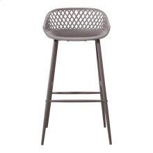 Piazza Outdoor Bar Stool Grey-m2