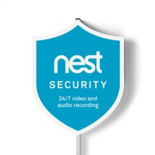 Nest Security Yard Sign