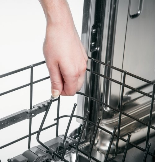 GE Profile™ Stainless Steel Interior Dishwasher with Front Controls