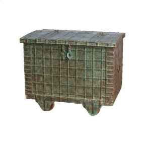 York Wooden Wheeled Box