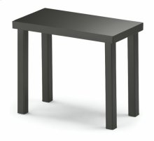 1 x 2 Color Glass Top End Table