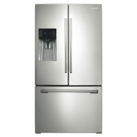 "36"" Wide, 25 cu.ft. French Door with External Water & Ice Dispenser (Stainless Steel)"