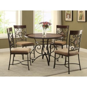 Sarah Round Dining Table Base