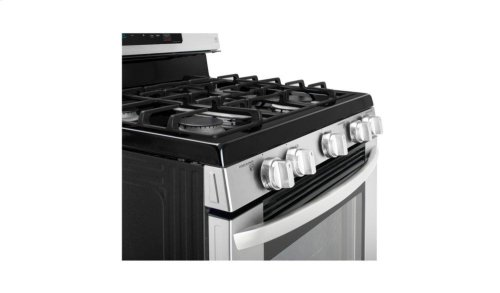 5.4 cu. ft. Gas Single Oven Range with EvenJet Fan Convection and EasyClean®