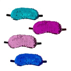 12 pc. ppk. Reversible Sequin Sleep Mask