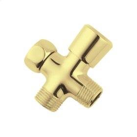 Polished Brass Inversa Diverter