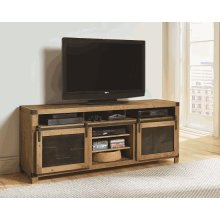 74 Inch Console - Driftwood Finish