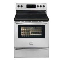 Frigidaire Gallery 30'' Freestanding Electric Range   (This is a Stock Photo, actual unit (s) appearance may contain cosmetic blemishes.  Please call store if you would like actual pictures)  MANUFACTURER WARRANTY NOT VALID