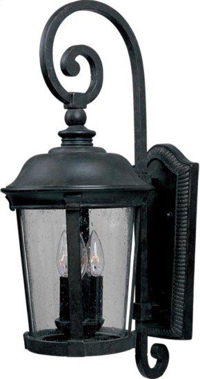 Dover Cast 3-Light Outdoor Wall Lantern