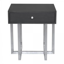 Armen Living Knight Contemporary Lamp Table