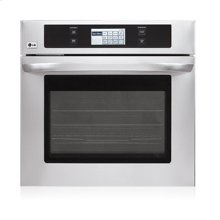 "4.7 cu.ft. Capacity 30"" Built-in Single Wall Oven with LCD Display and Crisp Convection"