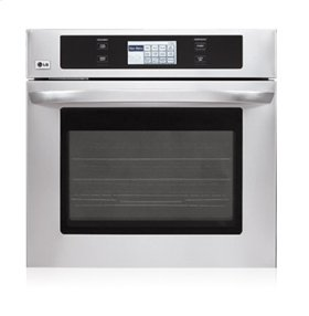 """4.7 cu.ft. Capacity 30"""" Built-in Single Wall Oven with LCD Display and Crisp Convection"""