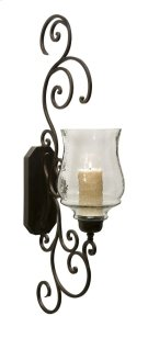 Angelina Grand Scrollwork Candle Sconce Product Image