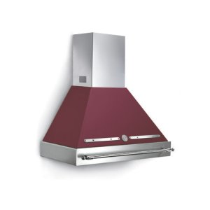 Matt Burgundy 36 Canopy and Base Hood