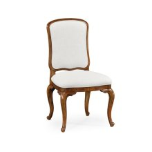 French Dressing Side Chair, Upholstered in COM by Distributor