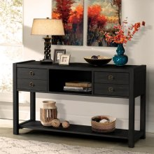 Perspectives - Console Table - Ebonized Acacia Finish