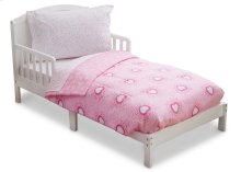 Hearts & Sprinkles 4-Piece Toddler Bedding Set - Hearts \u0026 Sprinkles (2002)