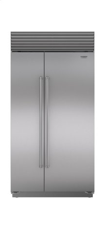 "42"" Built-In Side-by-Side Refrigerator/Freezer"