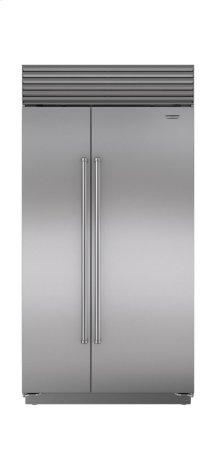 "42"" Built-In Side-by-Side Refrigerator/Freezer"
