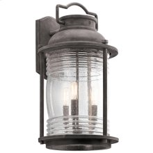Ashland Bay Ashland Bay 3 Light Outdoor Wall Lantern in WZC