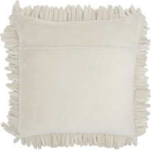 "Life Styles Ys103 Ivory 20"" X 20"" Throw Pillow"