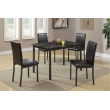 F2361 / Cat.19.p66- 5PCS TABLE+4CHAIR