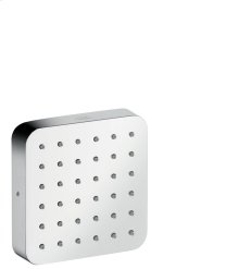 Polished Chrome Shower module 120/120 for concealed installation softcube