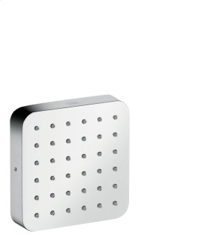 Polished Chrome Shower module 120/120 Softcube for concealed installation Product Image