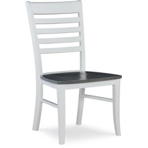 JOHN THOMAS FURNITURERoma Chair Heather Gray / White