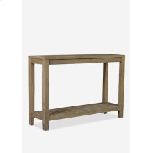 (LS) Promenade Console with Shelf,K/D System (47.25X13.75X31.5)