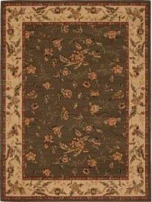 Hard To Find Sizes Grand Parterre Va01 Olive Rectangle Rug 8' X 6'