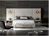 Brando Bed with Panels (Queen)