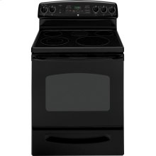 "GE® 30"" Free-Standing Electric Convection Range (This is a Stock Photo, actual unit (s) appearance may contain cosmetic blemishes. Please call store if you would like actual pictures). This unit carries our 6 month warranty, MANUFACTURER WARRANTY and REBATE NOT VALID with this item. ISI 30543"