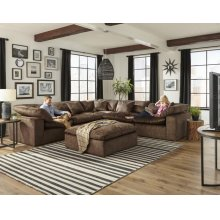 Plush  5PC Sectional