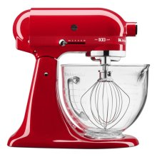 Numbered 100 Year Limited Edition Queen of Hearts 5 Quart Tilt-Head Stand Mixer - Passion Red