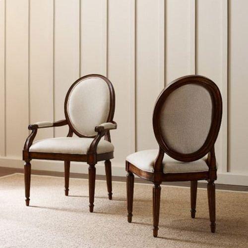Artisans Shoppe Oval Back Side Chair Black Forest