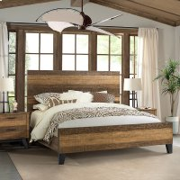 Bedroom - Urban Rustic Bed Product Image