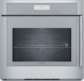 30 inch Masterpiece(R) Series Single Built-In Oven, Left Side Swing Door MED301LWS