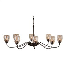 Oval Large 8 Arm Chandelier