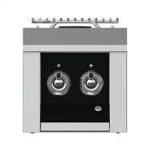 Aspire Panel, Control, Side Burner, Double, Black/stealth