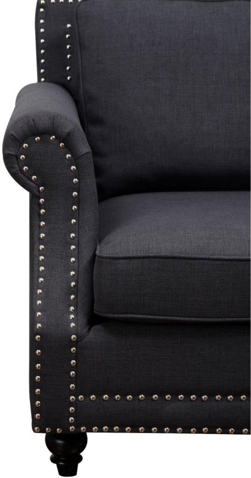 Additional Camden Grey Linen Sofa