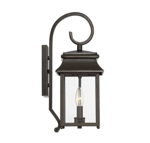 Durham Small Lantern W/ Scroll