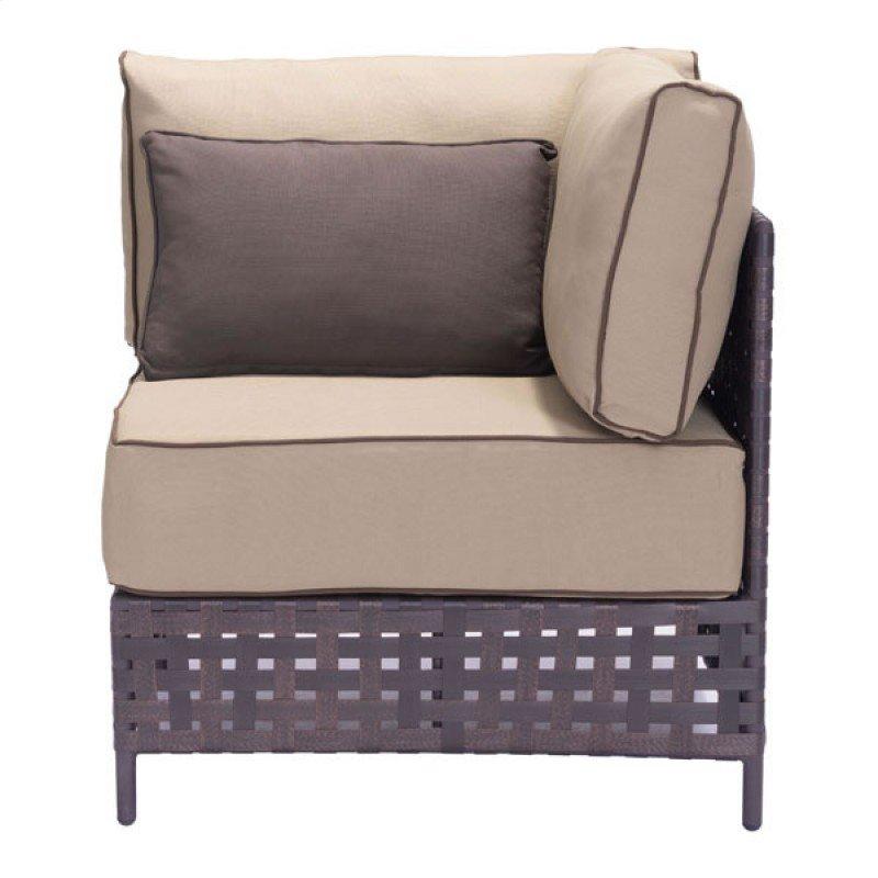 Pinery Corner Chair Brown Beige
