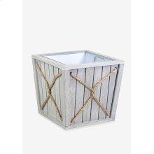 (LS) Montauk Planter Box - Small